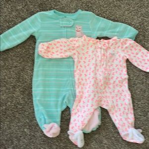 Clothes for girl from birth to 6 months.